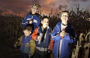 Bose Sons Night Corn Maze